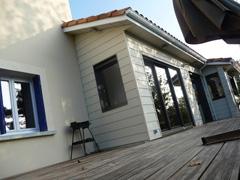extension maison bois parthenay