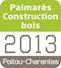 Palmares construction bois 2013